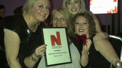 Blakeway North wins Best Independent Production Company