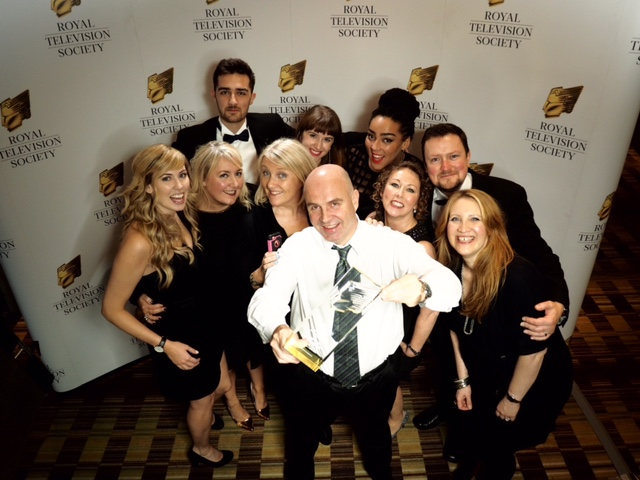 RTS NW Awards 2015 - Winner Best Factual Entertainment Programme